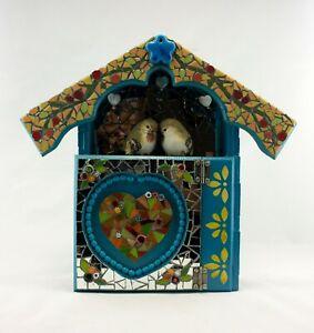 Handmade key holder. Mosaic Art