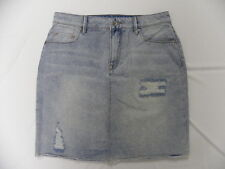 Roxy Women The Unique Light Blue Denim Skirt Sz Medium