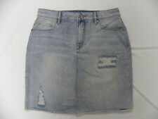 Roxy Women The Unique Light Blue Denim Skirt Sz Medium