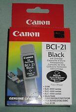 DV5374 CANON IMPRIMANTE CARTOUCHES BCI-21 BCI21 BLACK