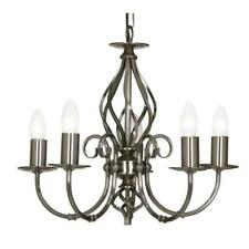 Tuscany 5 Light Chandelier Antique Silver Finish 3380/5AS NEW (K)