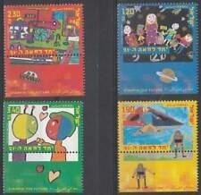 Israël postfris 2000 MNH 1537-1540 - Kinder Tekeningen
