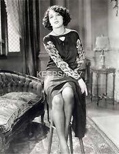 BEAUTIFUL SILENT FILMS ACTRESS ESTELLE TAYLOR LEGGY 8 X 10 PHOTO A-ET2