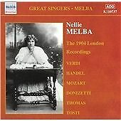 Nellie Melba Complete Gramophone Recordings, Vol 1, Orchestra, Good Used CD CD