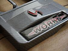 Mini Cooper s r53 intercooler carbon fibre cover john cooper works jcw engine
