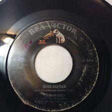 DUANE EDDY & REBELETTES BOSS GUITAR/THE DESERT RAT 1963 ROCK & ROLL VG+ RCA8131