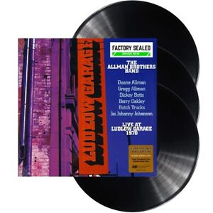 The Allman Brothers Band – Live At Ludlow Garage 1970 Triple Vinyl 180g Set NEW