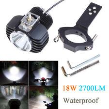 Motorcycle LED Headlight Spotlight 18W 2700LM DRL Fog Light w/ CREE-XHP70 Chips