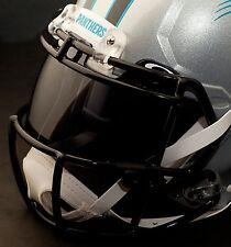 *CUSTOM* CAROLINA PANTHERS NFL OAKLEY Football Helmet EYE SHIELD / VISOR