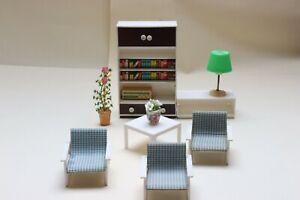 Puppenmöbel von Vero für Puppenhaus oder Puppenstube DDR weiß