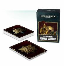 Warhammer 40K Adeptus Custodes Datacards NEW