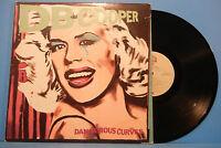 DB COOPER DANGEROUS CURVES VINYL LP 1981 ORIGINAL PRESS NICE CONDITION! VG/VG+!!