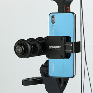Archery Smartphone Camera Bow Mount Phone Holder for PSE HOYT Compound Bow