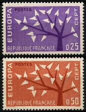 France 1962 SG#1585-6 Europa MH Set #D55203