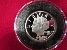 2008  Norfed $10 Moose round - rare. BU