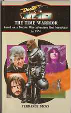 Doctor Who [and] The Time Warrior. Virgin blue spine, MINT. Target books.