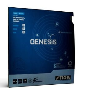 Stiga Genesis S 2,0/2,2 mm  Schwarz / Rot