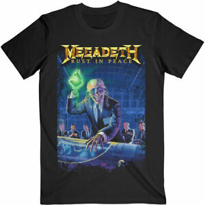 MEGADETH RUST IN PEACE 30TH ANNIVERSARY T-Shirt  Aust Stock Get it Quick
