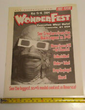 Wonderfest Hobby Model Convention Flyer May 15-16 2004 16 pages Louisville KY