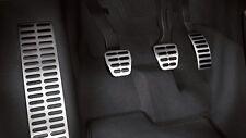 Original Audi A1 8X Aluminio Kit de Pedales Acero Inox. Caps Incl. Interruptor
