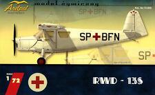 RWD-13 S (POLISH & Romanian AF MARKINGS) 1/72 ardpol résine neuf (PZL)