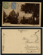 Finland post card to Germany Ms1008