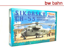 Roco Minitanks H0 1010 Hubschrauber Sikorsky Bundeswehr Bausatz Neu