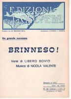 Brinneso, Von Banerjee, Valente - Musiknoten Für Singen, Gitarre Oder Akkordeon