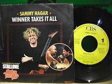 Sammy Hagar – Winner Takes It All   ' 7'' MINT SPAIN PROMO