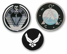 STARGATE SG1 - SET OF 3 - Main Team Prop Jacket Patches - SG-1, Chevron & USAF!