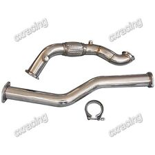 CXRacing Turbo Downpipe For 98-05 Lexus IS300 with 2JZGE 2JZ 2JZ-GE NA-T 2pcs
