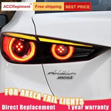 For Mazda 3 Axela Sedan LED Taillights Assembly Dark LED Rear Lamps 2014-2019