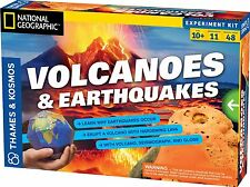 Thames and Kosmos 665081 Volcanoes and Earthquakes Experiment Kit