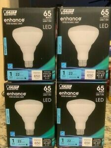 12 PACK BR30 FEIT Electric Flood 65W replacement bulbs 650 Lumens Daylight NEW