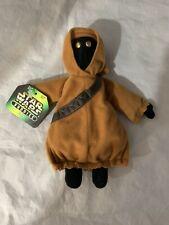 1997 STAR WARS BUDDIES Stuffed Plush Soft Toy 6'' w/tags JAWA