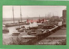 On the Canal Harbour Southwick Shoreham RP pc used 1914 JWS Ref P200