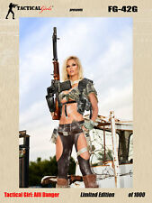 2017 Tactical Girls Alli Danger FG42G Signed Poster