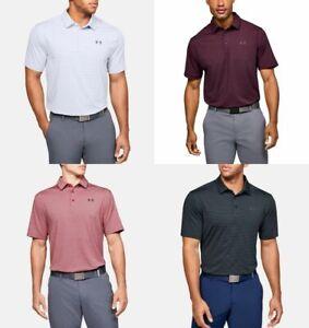 Under Armour Men's UA Playoff  Polo 2.0 Core Stripe Golf Polo Shirt (1311008)