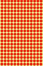 8mm Coloured Dots Round Stickers Sticky Adhesive Spot Circle Paper Labels BN UK