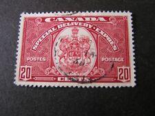 Canada, Scott # E8, 20c. Value Dark Carmine 1938-39 Special Delivery Issue Used