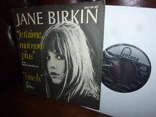 "Jane Birkin & Serge Gainsbourg, Je t'aime moi non plus, German Fontana 7"" 1967"