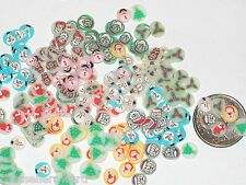 20pc Miniature dollhouse tiny lot of fairy glitter Christmas Huge crafting Mix *
