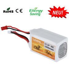 25C 3S 11.1V 1000mAh 20C Li-Po Batterie Akku JST für RC Auto Car Truck Truggy DE