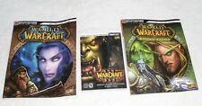 World of Warcraft - Three (3) Book LOT - GAME Secrets - Battle Chest Guides LOT!
