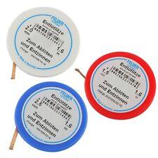 Felder 3er Set Lötzinn absaugen 1,6m Entlötlitze 1,5mm 2,0mm 2,5mm breit 858747