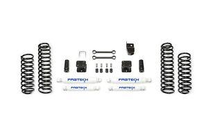 Fabtech K4048 Budget Lift System w/Shock Fits 07-18 Wrangler (JK)