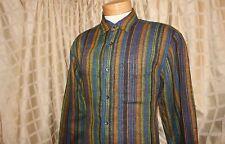 THE TERRIROTY AHEAD:  Muli-Color Native American Indian Pattern Men Casual Shirt