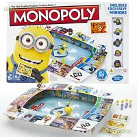 New Monopoly Despicable Me 2 Edition Family Child Board game Minion Figures Gift