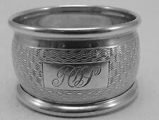 Good HM Silver Napkin Ring (335a) - Birm 1947 William Adams