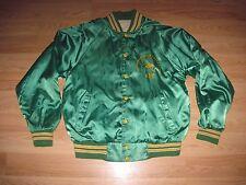 1980's Michigan State Spartans Alpha Gamma Rho Fraternity Satin Jacket/Football
